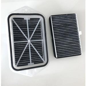 Image 1 - 2 holes cabin filter for Vw sagitar CC Passat Magotan Golf tiguan touran audi skoda octavia external air filter