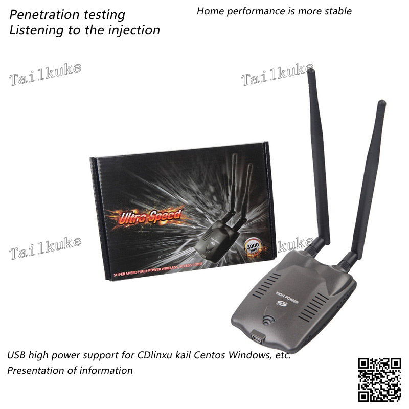 Wireless Network Card RT3070L Receiver Wireless Launch AP Penetration Test Cdlinux Kali Network Card Linux