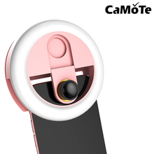 Кольцевой светильник WQ16St 0.63X широкоугольный планшет светодиодный заполняющий свет перезаряжаемая фотокамера селфи вспышка лампа для iphone samsun
