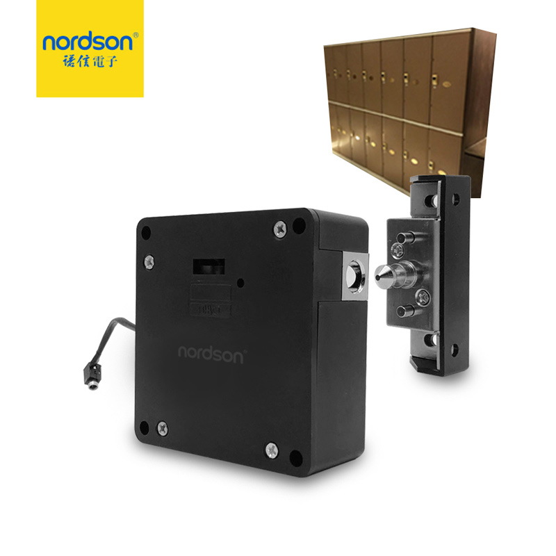 Nordson Original Electronic RFID Hidden Bolt Cabinet Lock Battery Powered Furniture Locker Drawer Lock Home Gym Swimming Pool