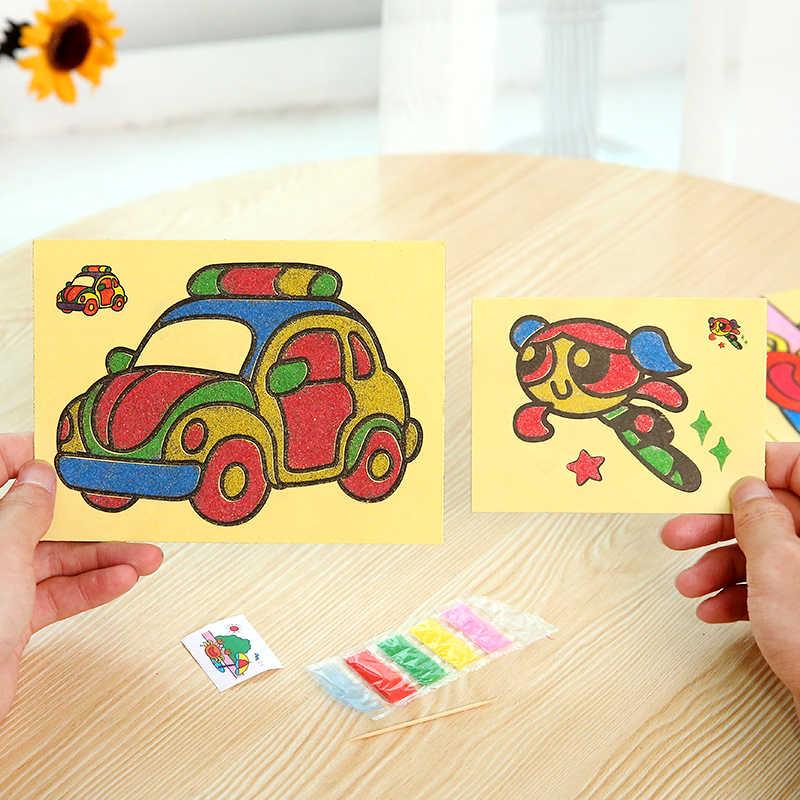 1 個カラー破片クラフトおもちゃ虹色スティック教育 Diy おもちゃ手作りアートクラフト創造 Devoloping おもちゃ