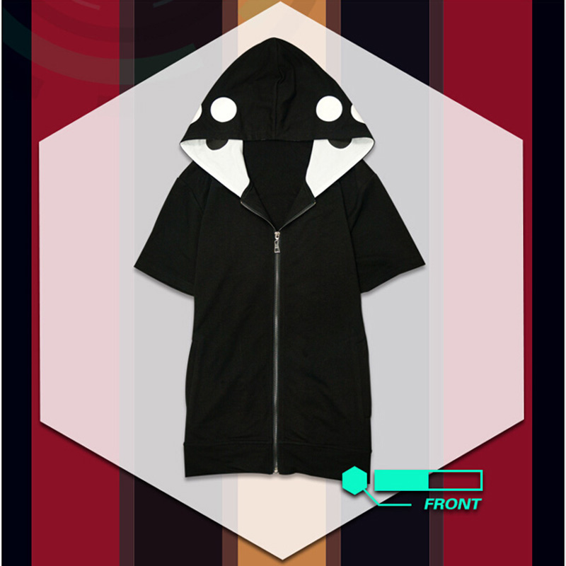 Image 3 - Kagerou Project MekakuCity Actors Kano Hoodie + T shirt Cosplay Unisex Fashion Heat Haze Project Cosplay Costume-in Anime Costumes from Novelty & Special Use