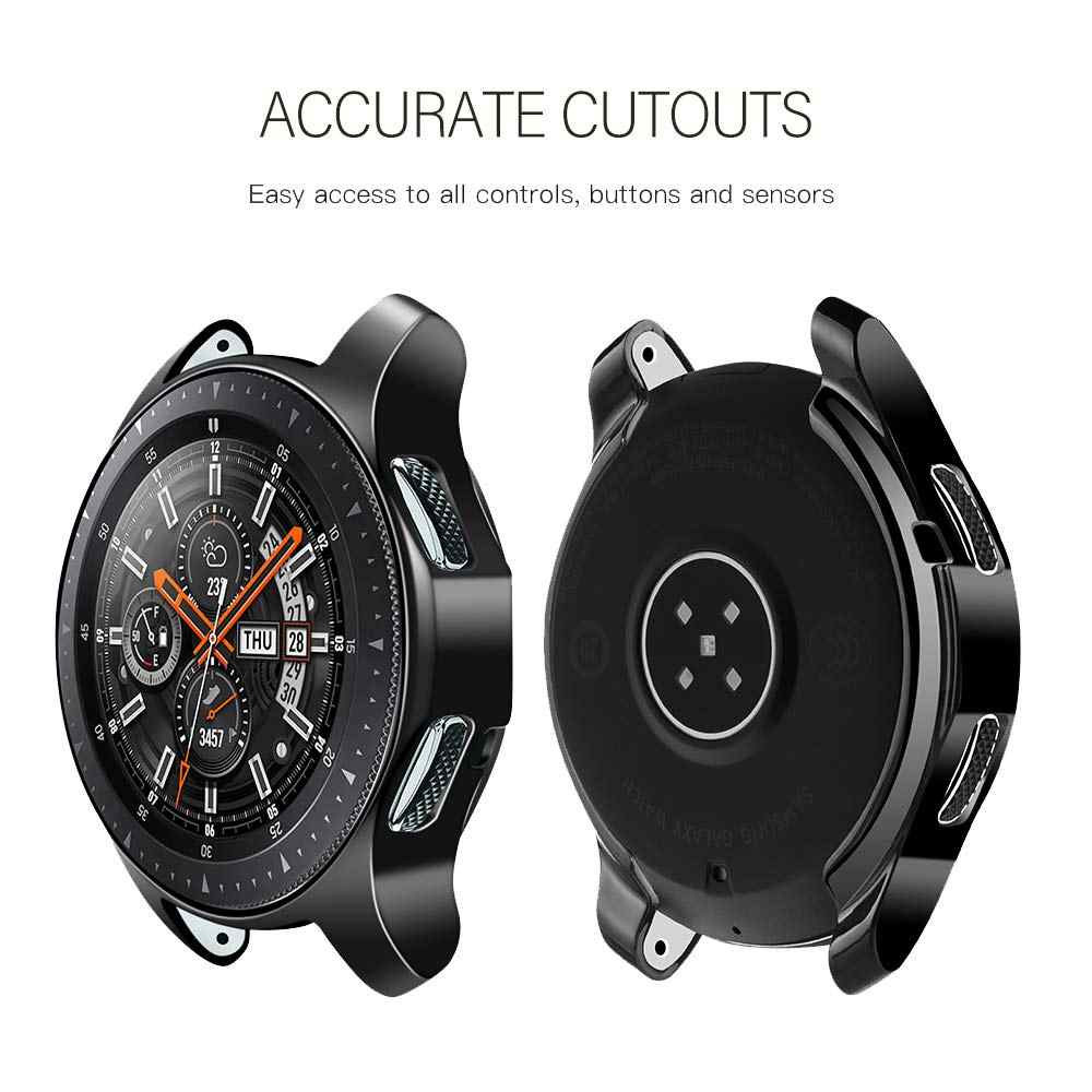 Gear S3 Frontier Case Voor Samsung Galaxy Horloge 46 Mm 42 Mm Case Cover Tpu Plated Rondom Screen protector Bumper Gear S 3 46 Mm