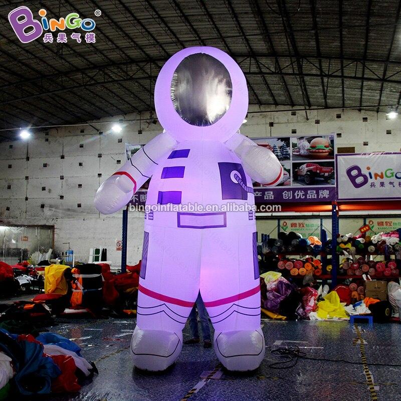 Индивидуальный заказ 13 футов надувные светильники астронавт/светодиодный надувная игрушка астронавт Спорт - 3