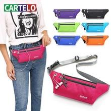 Waist-Bag CARTELO Mobile-Phone-Bag Outdoor-Riding Waterproof Sports Male Fashion New
