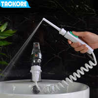 Tackore Oral Irrigator Faucet Dental Floss Water Jet Flosser Implement Irrigation Tooth Cleaner Multi-jet Nozzles Teeth clean