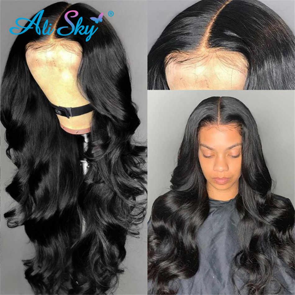 Malaysische Körper Welle HD Transparent Spitze Frontal Perücken Menschliches Haar Perücken Für Schwarze Frauen 13X6 Spitze Vorne Perücke Pre Gezupft remy Haar