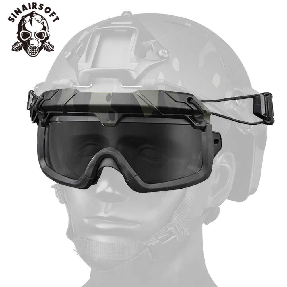 Taktische Helm Anti Fog Eyewears Transparent Brille Fur Wandern Airsoft Jagd Paintball Schiessen Zubehor Paintball Zubehor Aliexpress