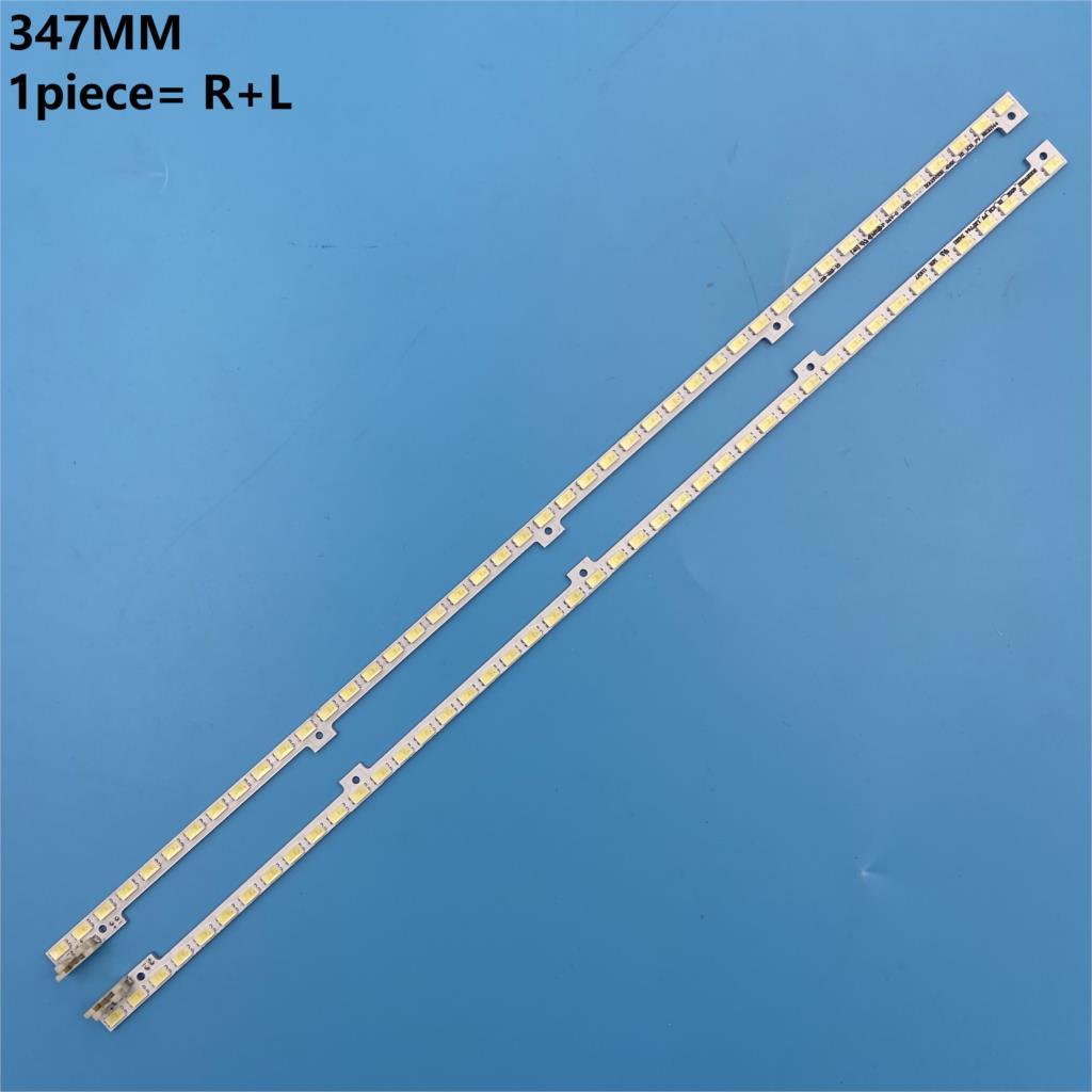 2pcs/lot 347mm LED Backlight Lamp Strip 44leds For Samsung 32 Inch TV 2011SVS32 456K H1 UA32D5000 LTJ320HN01-H BN64-01634A