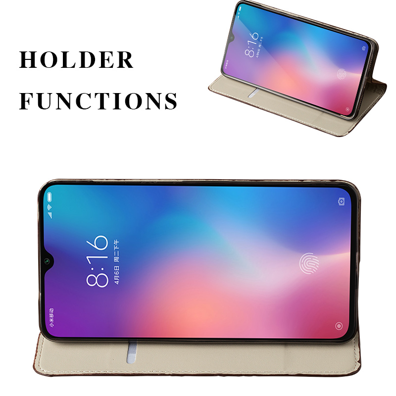 Image 4 - Leather Phone Case For Xiaomi Redmi Note 9s 8 7 Pro 4x K30 Mi 9 9se 10 9T pro A2 lite A3 Max 2 3 Mix 3 Poco F1 X2 Magnetic CoverFlip Cases   -