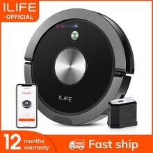 ILIFE A9s רובוט שואב אבק שאיבת אבק ורטוב לשטוף חכם APP שלט מצלמה ניווט מתוכנן ניקוי פח אשפה גדולה