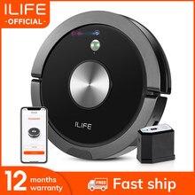 Ilife a9s robô aspirador de pó vacuuming & limpar inteligente celular app controle remoto câmera plano navegação limpeza do agregado familiar