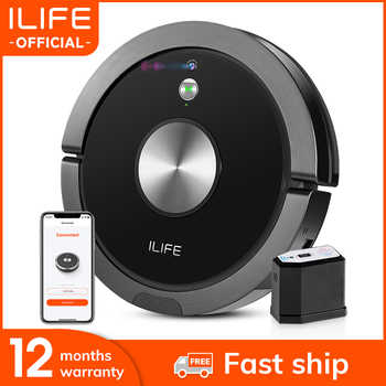 ILIFE A9s Robot Vacuum Cleaner Vacuuming & Wet Mopping Smart APP Remote Control Camera Navigation Planned Cleaning Large Dustbin - SALE ITEM All Category