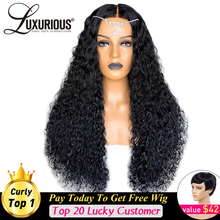 Curly Human-Hair-Wigs Hair-Pre-Plucked Bleached Knots Lace-Front Natural-Color Brazilian