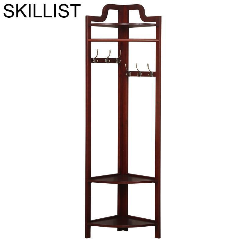 Pared Appendiabiti Para La Ropa Vintage Percha Armoire Wooden Cintre Wieszak Perchero De Pie Cabide Clothes Clothing Rack Stand