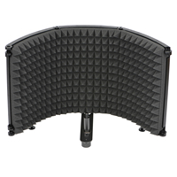 Freeboss FB-PS68(69) Broadcast Studio Adjustable Angle Foldable Noise Reduction Sound Absorbing Microphone Wind Screen Shield