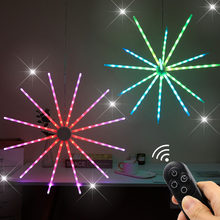 New Meteor Light RGB light Symphony Dynamic Birthday Christmas Party Decoration Night light Strobe Windmill lights Firework lamp