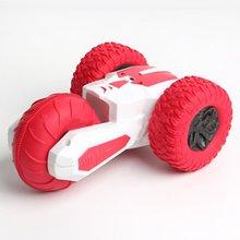 Children  RC Car 2.4G Stunt Drift Deformation Buggy Car Rock Crawler Roll Car 360 Degree Flip Kids  Robot  RC  Car Toys