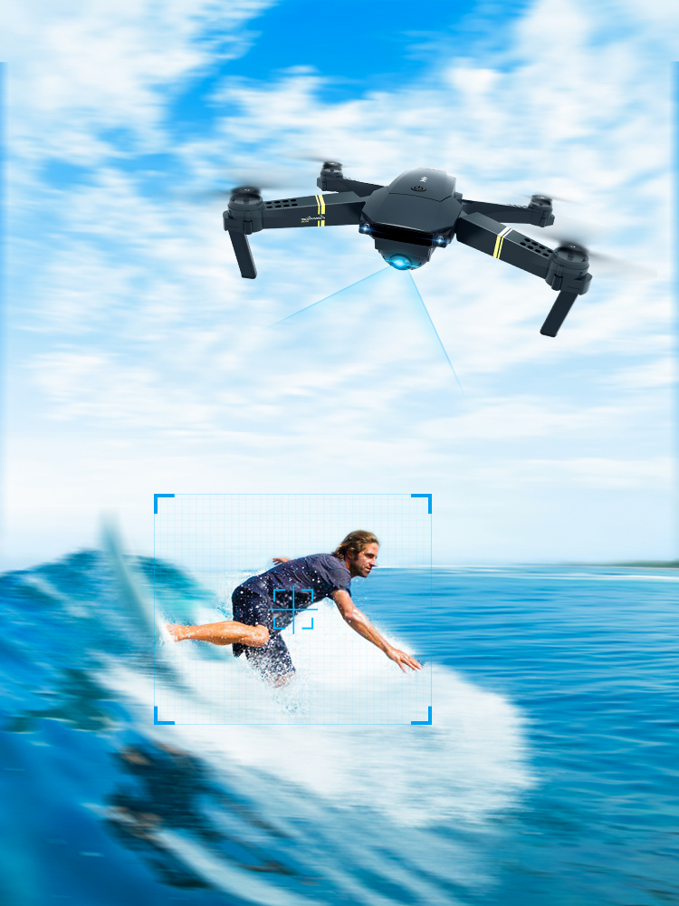 Eachine Arm WIFI Dron Rc-Quadcopter-Drone-X-Pro Foldable 720p/480p-Camera Hold-Mode FPV
