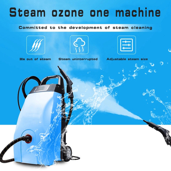 ozone high pressure steam cleaner in car washer 3000W commercial Vapor Cleaner high - level disinfection machineCar wash, hotel