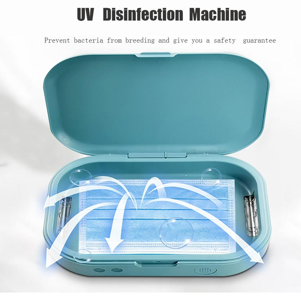 UV Face Mask Sterilizer Anti Bacteria UV Light Disinfection Of Cell Phone Face Masks Prevention Virus
