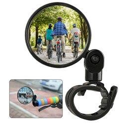 Высококачественный Универсальный регулируемый велосипедный Руль заднего вида с поворотом на 360 градусов, выпуклое зеркало с широким углом ...