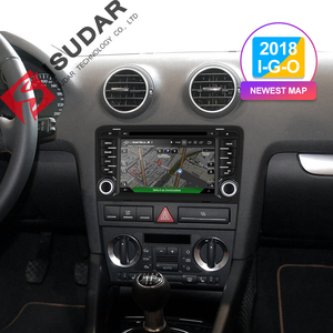 Image 2 - Isudar 2 Din Auto Radio Android 9 For Audi A3 8P/A3 8P1 3 door Hatchback/S3 8P/RS3 Sportback Car Multimedia Video Player GPS DVR