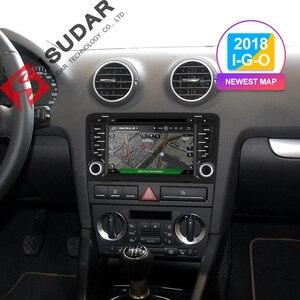 Image 2 - Isudar 2 Din Auto Radio Android 9 pour Audi A3 8 P/A3 8P1 3 portes hayon/S3 8 P/RS3 Sportback voiture lecteur vidéo multimédia GPS DVR