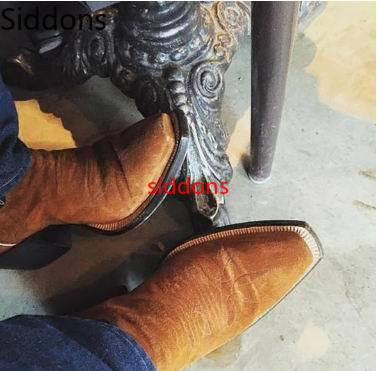 Winter Ankle Boots Men Shoes With Fur Warm Vintage Classic Male Casual Motorcycle Boot  Zapatos De Hombre Fashion Shoes Men D98