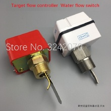 Water flow switch HFS-25 20 15 target type controller flow switch 4 points 6 points 1 inch stainless steel sealed type