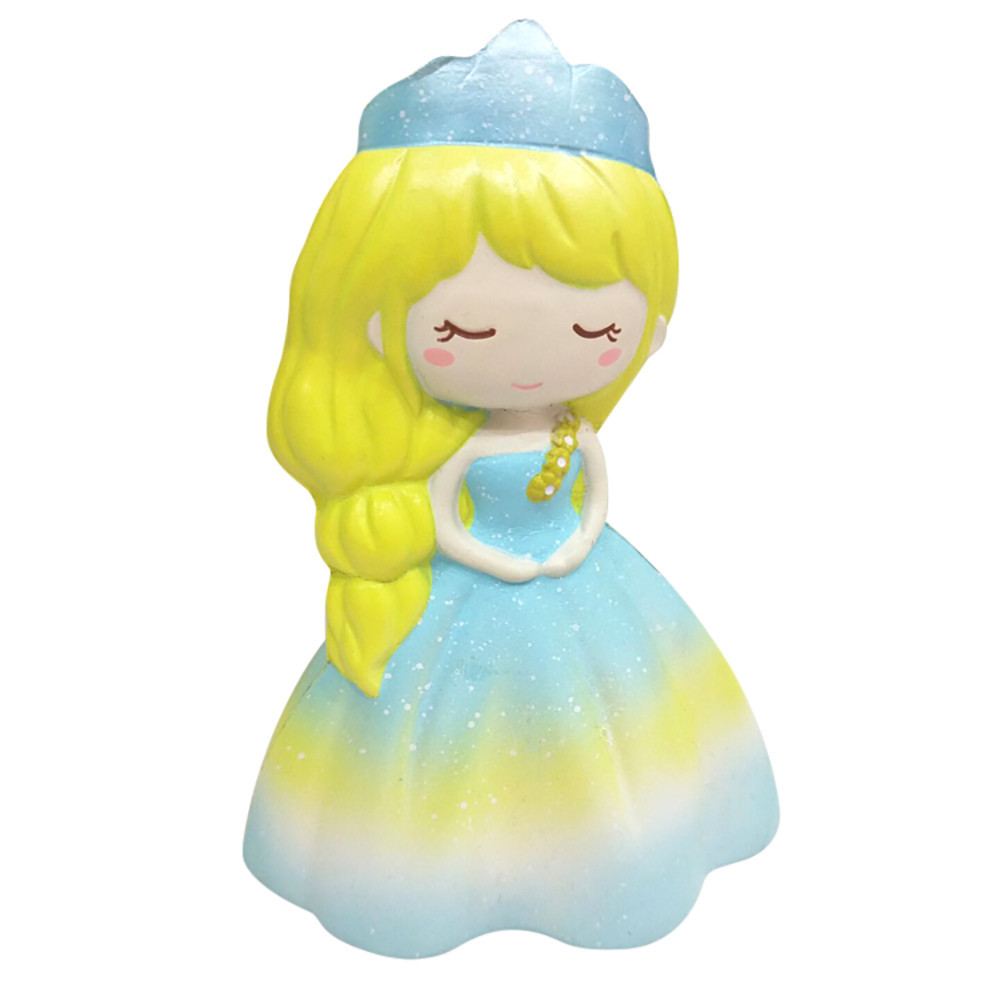 Squishy Wedding Girl Squeeze Slow Rising Decompression Toys Cartoon Decoration Doll Decor Noverty Toys Exquisite Fun Toy #B