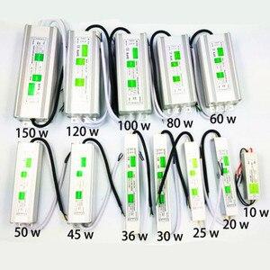 Image 2 - Adaptateur dalimentation AC110 260V à DC12V/24V, 10W 150W, transformateur Driver étanche Led, adaptateur dalimentation électronique IP68, éclairage dextérieur led