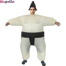 Inflatable Doll Costume Halloween Funny Show Wrestling Props Japanese style fat Man Female sumo inflatable clothes