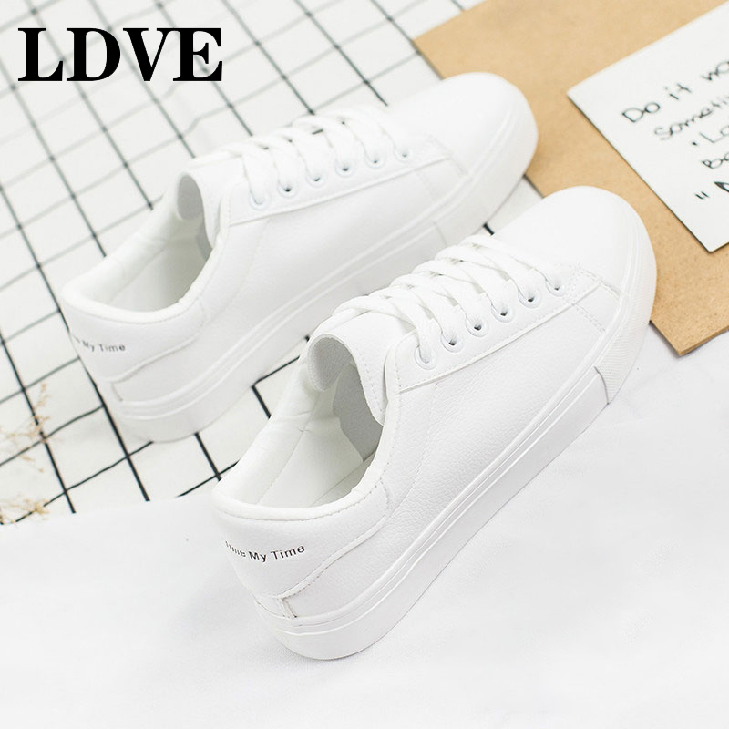 Shoes Women White Sneakers Female Canvas Fashion Vulcanize Summer Casual Zapatillas Mujer Hot