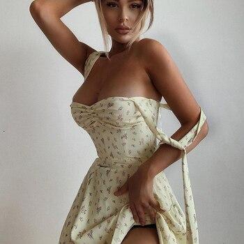 Floral Dress Sleeveless Strap Robe Longue Maxi For Women Femme Vestido De La Correa Lange Mouw Jurk Manga Fleurie Sundresses 1