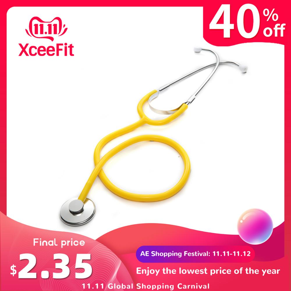 Professional Stethoscope Single Head Cardiology Stethoscope Doctor Portable Medical Equipment Medical Student Vet Nurse Device