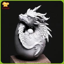 LXYY Форма 3d Дракон яйцо силиконовая форма шоколадное Украшение Подвеска декоративная силиконовая форма
