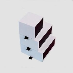 Image 2 - Scatola Per Gioielli Su Misura Logo 5*5.5*4.5 centimetri Pendenti con gemme e perle Orecchino Box con Anelli Magnetici Collana Scatola di Carta gioielli Organizer box