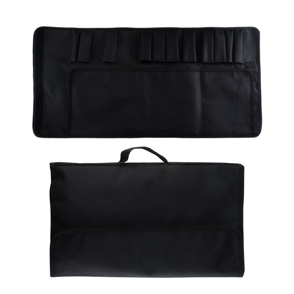 Chef's Roll Bag Kitchen Knife Storage Portable Oxford Canvas Pouch Hand Tools Screws Nails Parts Fishing Travel Makeup Organizer