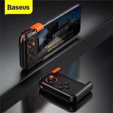 Baseus Bluetooth Gamepad PUBG oyun denetleyicisi kablosuz Joystick Gamepad iPhone Android cep telefonu için oyun pedi Joypad