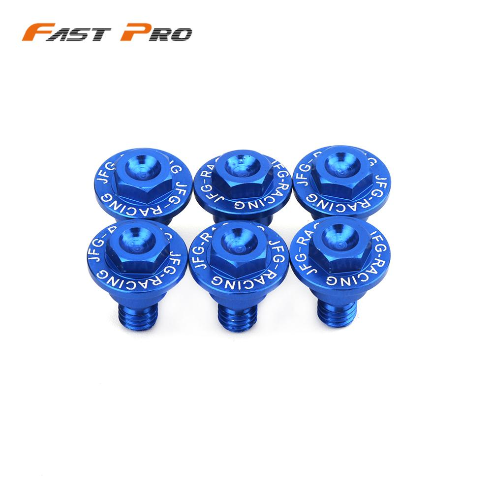 Motorcycle Front Fork Guard Bolt Screw For <font><b>Husqvarna</b></font> TC <font><b>TE</b></font> TX FC FE FX 50 65 85 125 250 <font><b>300</b></font> 450 501 2017 2018 <font><b>2019</b></font> 2020 image