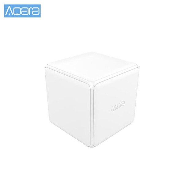 Aqara Cubo Magico Controller Zigbee Versione Controllato da Sei Azioni Per Smart Home, Casa Intelligente Dispositivo di Lavoro con Smart Home, Casa Intelligente app