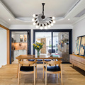 לופט נורדי עיצוב תליון אורות גופי מודרני Led אוכל חדר בית תפאורה תעשייתי תליית מנורת luminaire-באורות תלויים מתוך פנסים ותאורה באתר