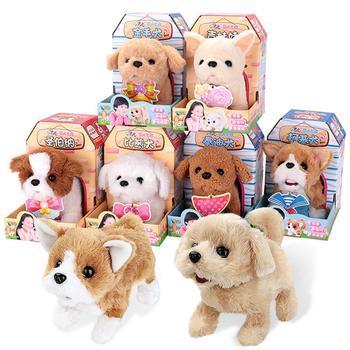 holiday gift plush toy barto duck dog lula ellie elephant doll RCtown Simulation Dog Electric Plush Doll Toy Cute Simulation Puppy Plush Animal Fluffy Doll Puppy Plush Toy Christmas Gift