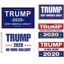 2020 Переизбранный Дональд флаг «Трамп» для президента США двухсторонний