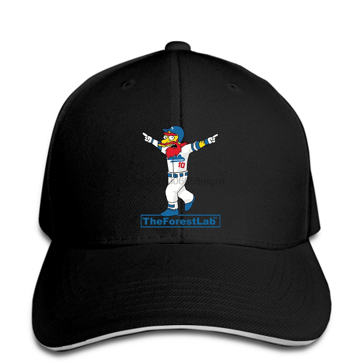The Forest Lab - Walk Off Willie - LA Dodgers Black Men Baseball Cap msrp35 Snapback Cap Women Hat Peaked