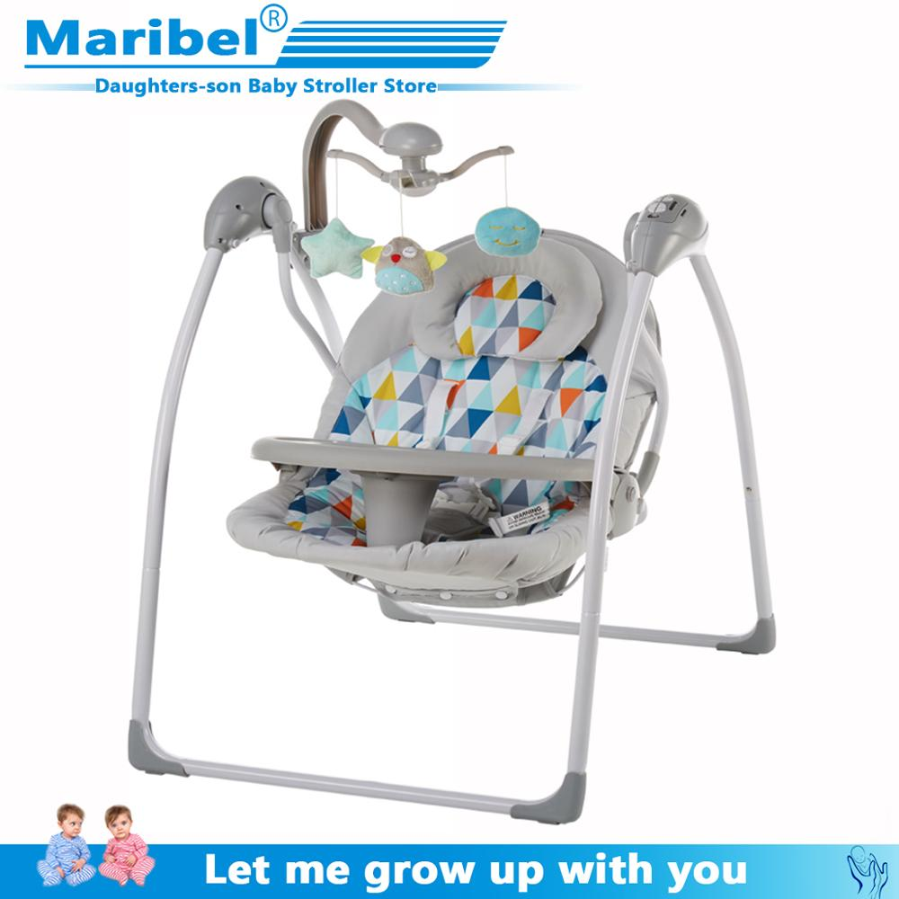 Baby chair Portable baby seat electric rocking table crib comfort sleeping sleep Shaker newborn children recliner