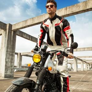Image 5 - Костюм мужской летний мотоциклетный из дышащей сетчатой куртки и брюк