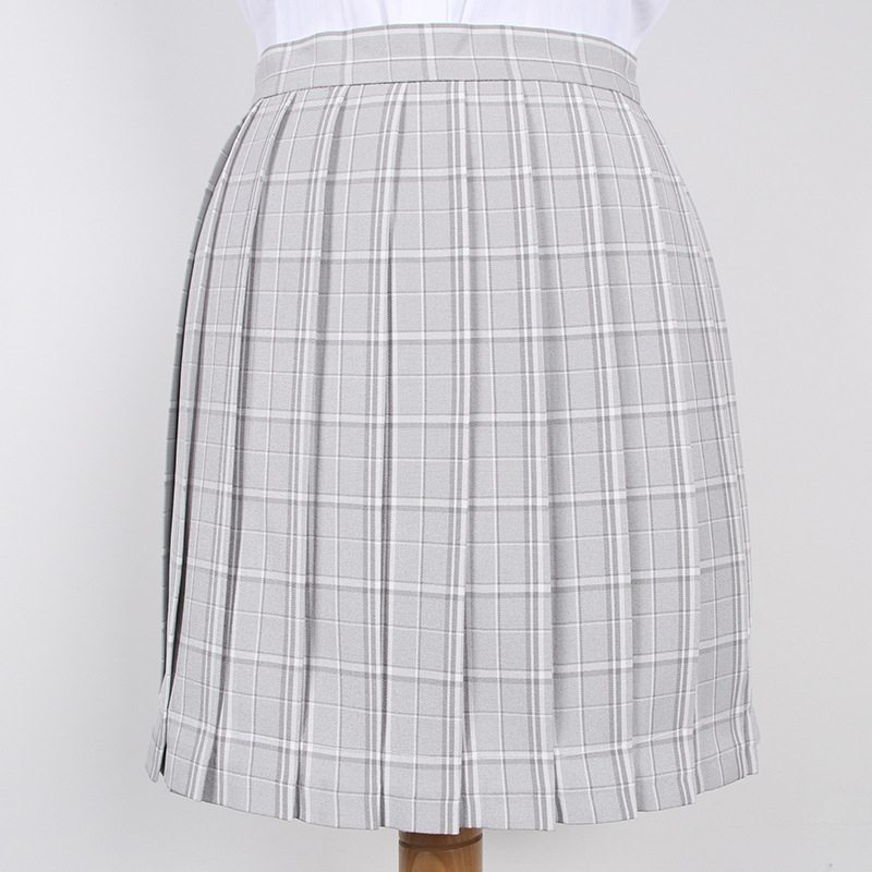 2019 New Spring Plus Size S-2xl Women High Waist Pleated Skirt Japanese Korean School Plaid Skirt Uniform Student Girl Skirts