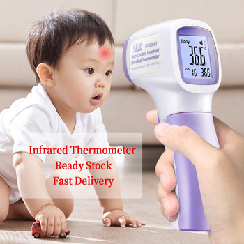 Non-contact Infrared Thermometer Digital Forehead Measuring Temperature Fever High-Precision Measuring Tool Portable Handheld